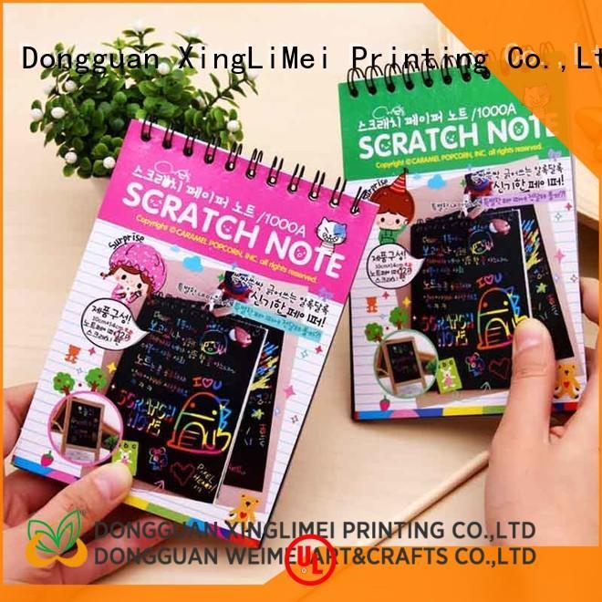 safe magic color scratch paper art for kids for handcraft