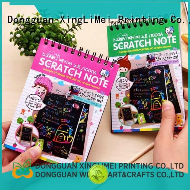 Painting magic scratch paper art for beginners for lesson