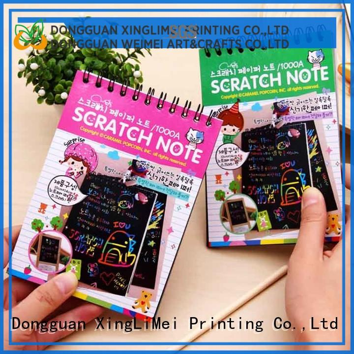 XingLiMei Painting black scratch paper safe for school