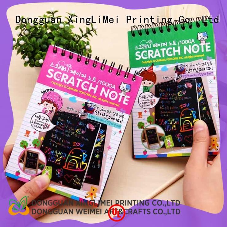 color scratch paper paper school XingLiMei