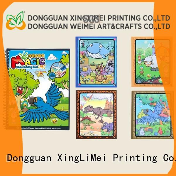 XingLiMei design magic water coloring book supplies for school