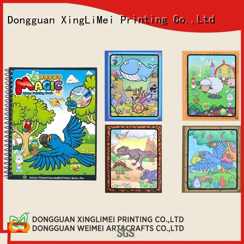 XingLiMei animal magic water coloring book supplies for family