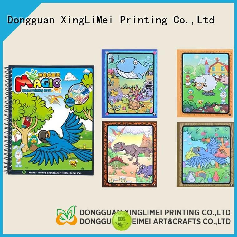 XingLiMei modern publishing water safety coloring book wholesale for family