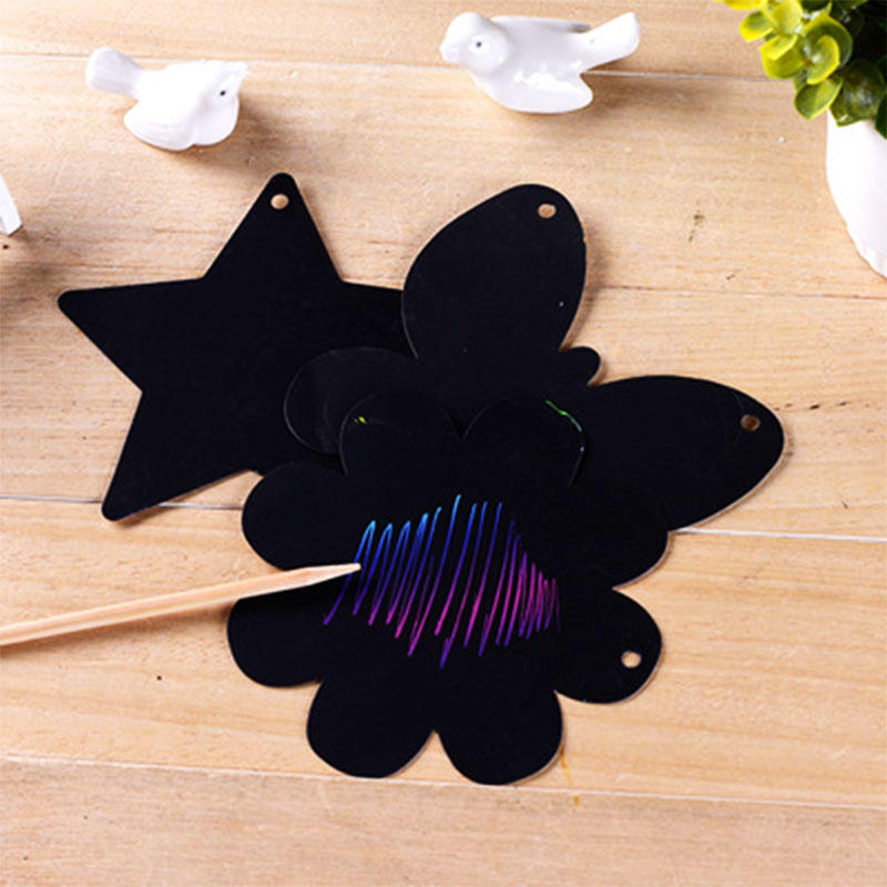 customized black paper scratch art art for kids for school-2