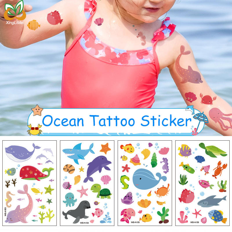 Children Tattoo Stickers Festival Tattoo Sticker Waterproof Temporary Tattoo