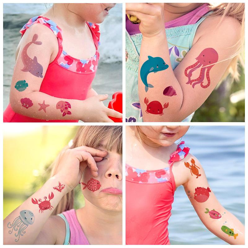Children Tattoo Stickers Festival Tattoo Sticker Waterproof Temporary Tattoo