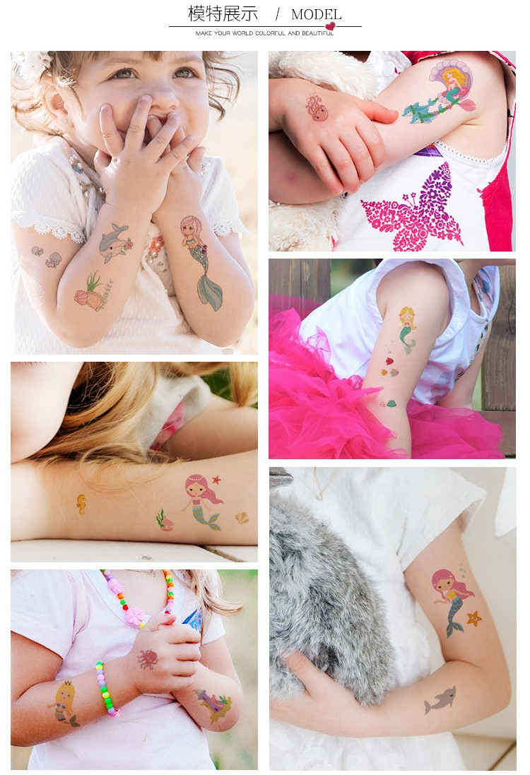 XingLiMei women non-toxic temporary tattoos quotes for decorative-13