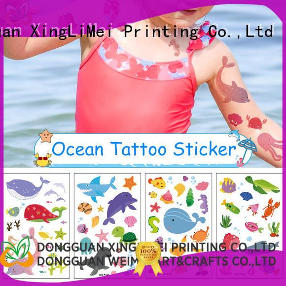 XingLiMei fashion temporary tattoos for women for wedding
